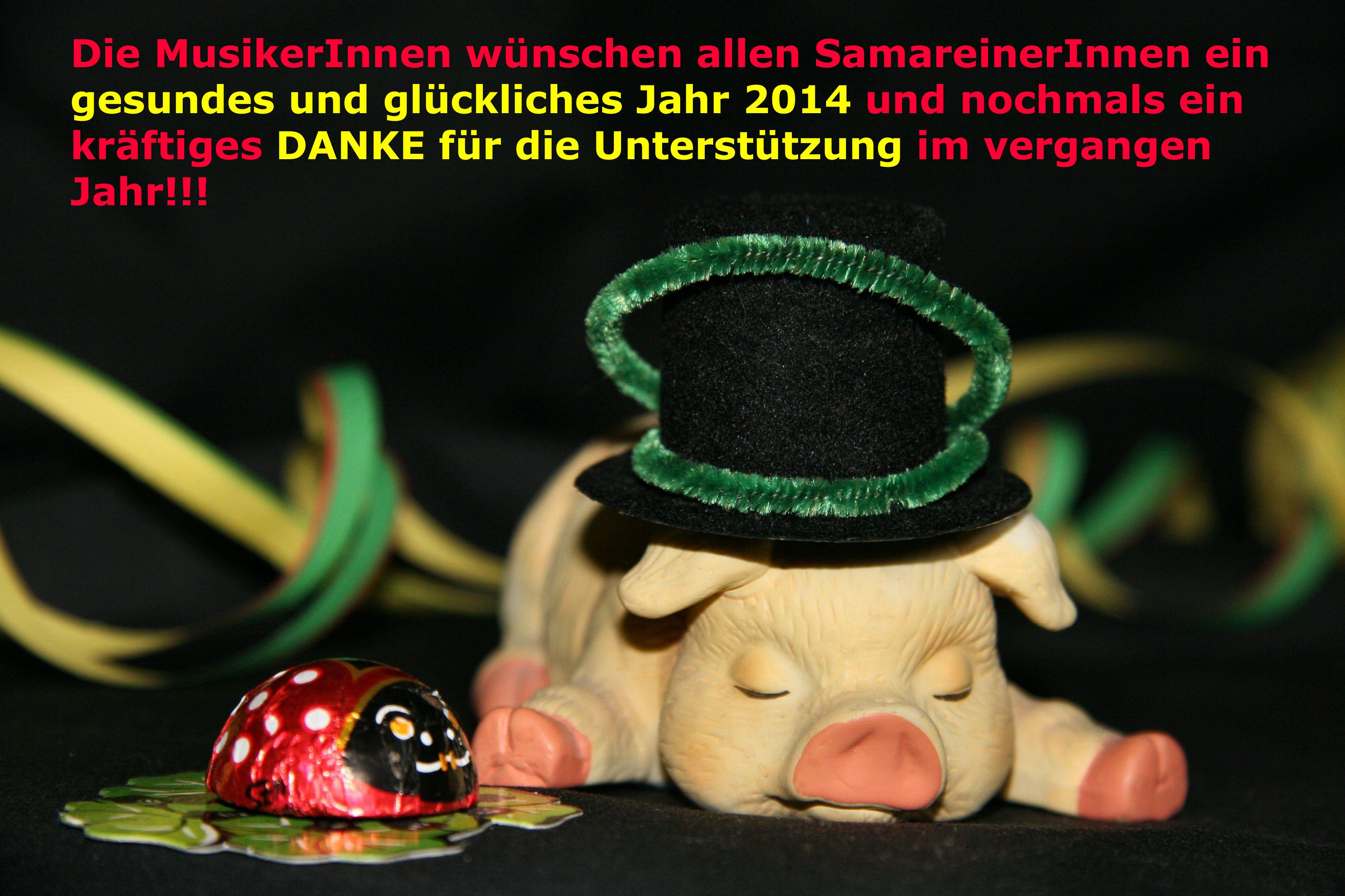 Neujahrswünsche 2014