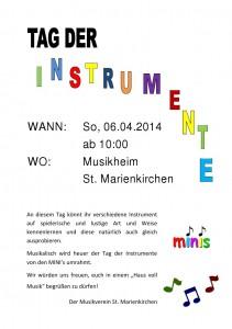 Tag der Instrumente_Plakat